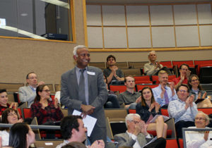 Donors attended the awards ceremony to celebrate student success.