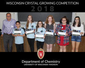 Student Winners of Space Crystal Contest