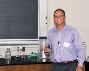 CASIS senior research scientist, Dr. Marc Giulianotti