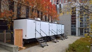 Heated Temporary Restrooms
