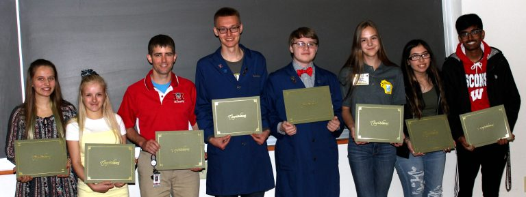 2019 Crystal Competition Winners