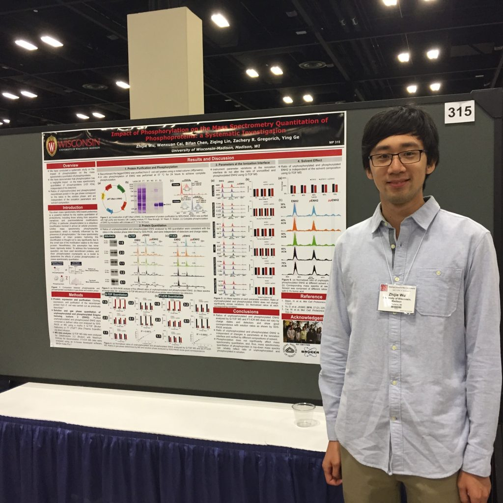 Abe at a Poster Session